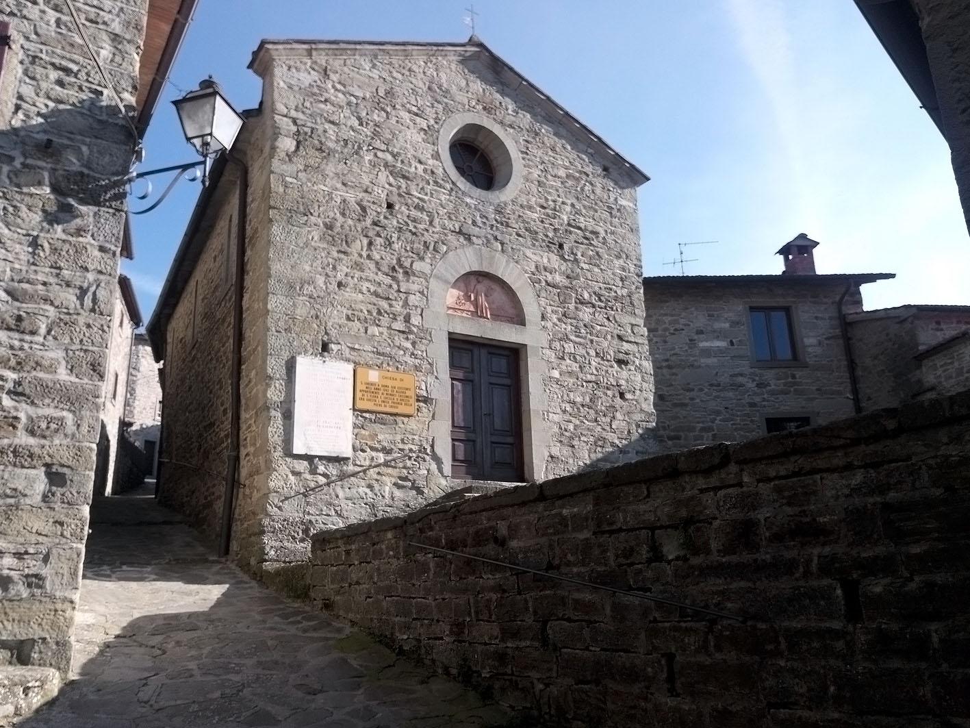 chiesa di san lorenzo - dama, chiusi della verna