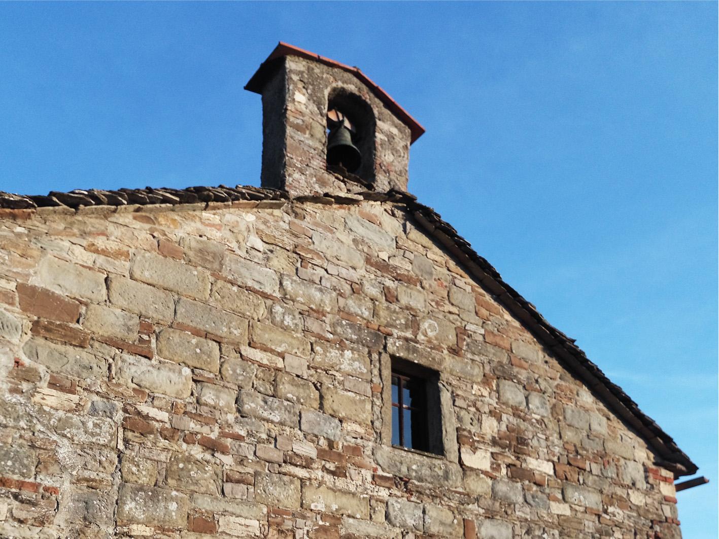 chiesa di santa maria a vezzano - chiusi della verna