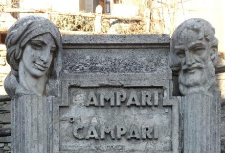 Inaugurazione del restauro della Fontana del Campari