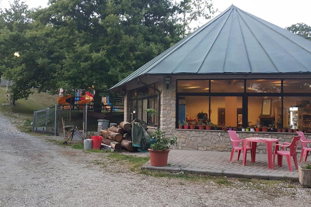 ristorante camping la verna