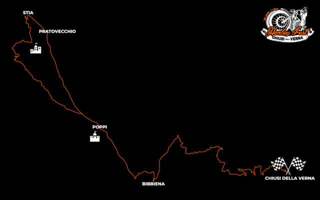 cartina motogiro harley fest