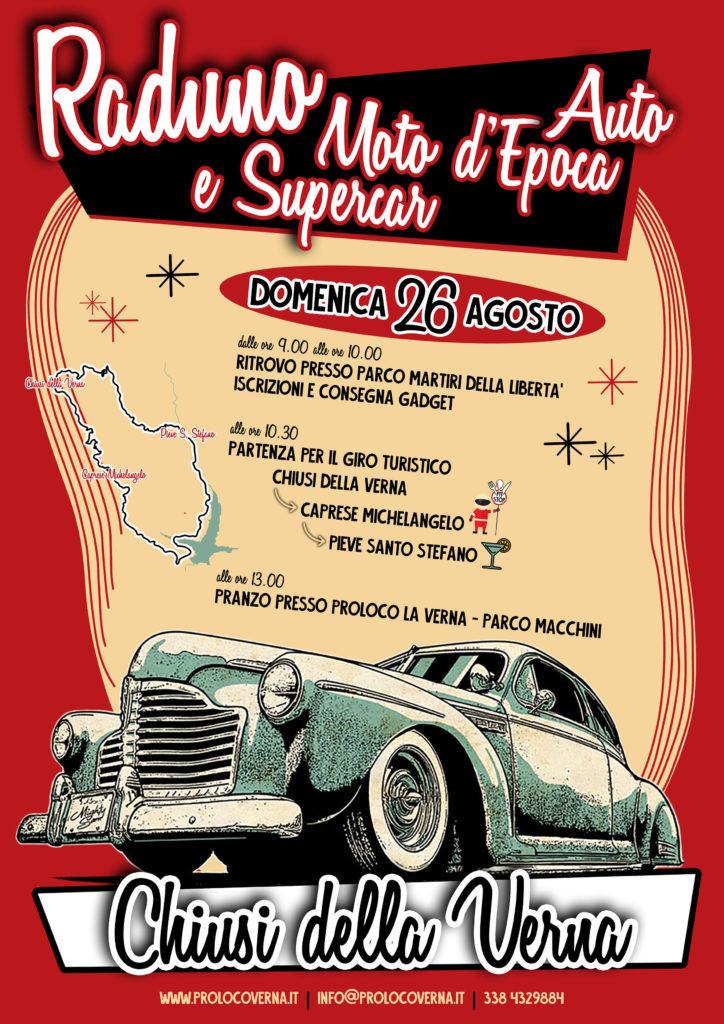 Raduno Auto Moto d'Epoca e Supertcar - Chiusi della Verna