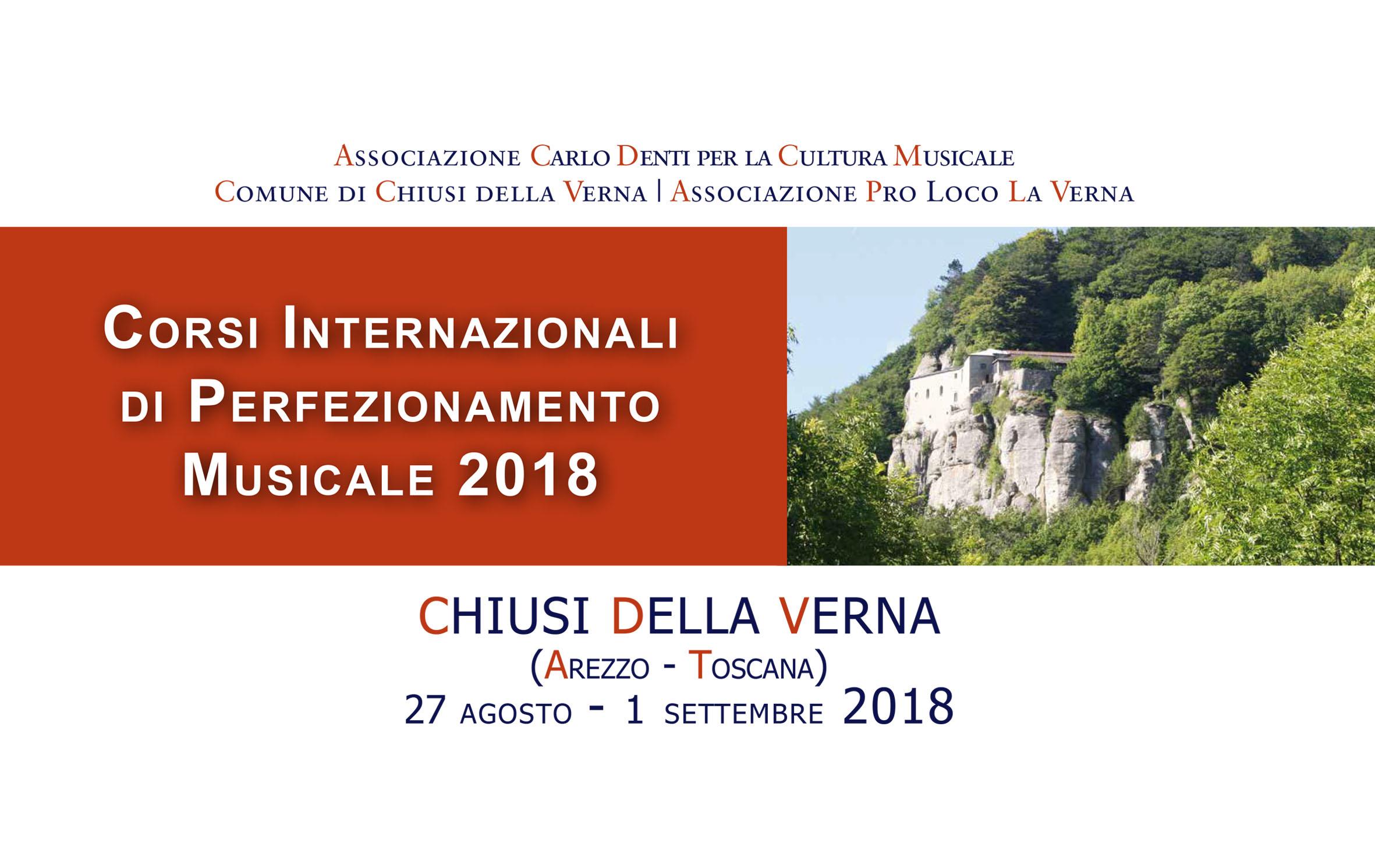 Programma ed Iscrizioni ai Corsi Internazionali di Perfezionamento Musicale