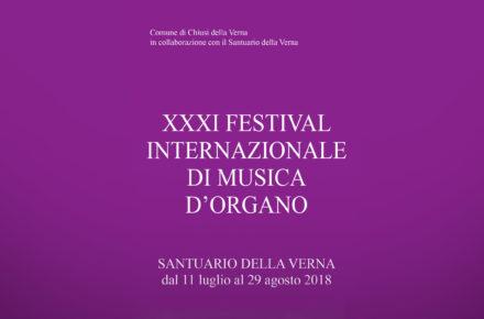 Al via il XXXI Festival Internazionale di Musica d'Organo