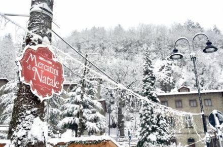 Al via l'ultimo weekend dei Mercatini di Natale a Chiusi della Verna
