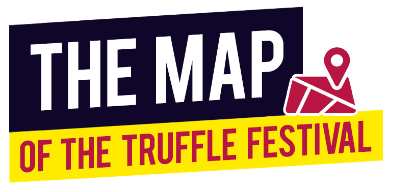 map of the sagra del tartufo 2019 chiusi della verna